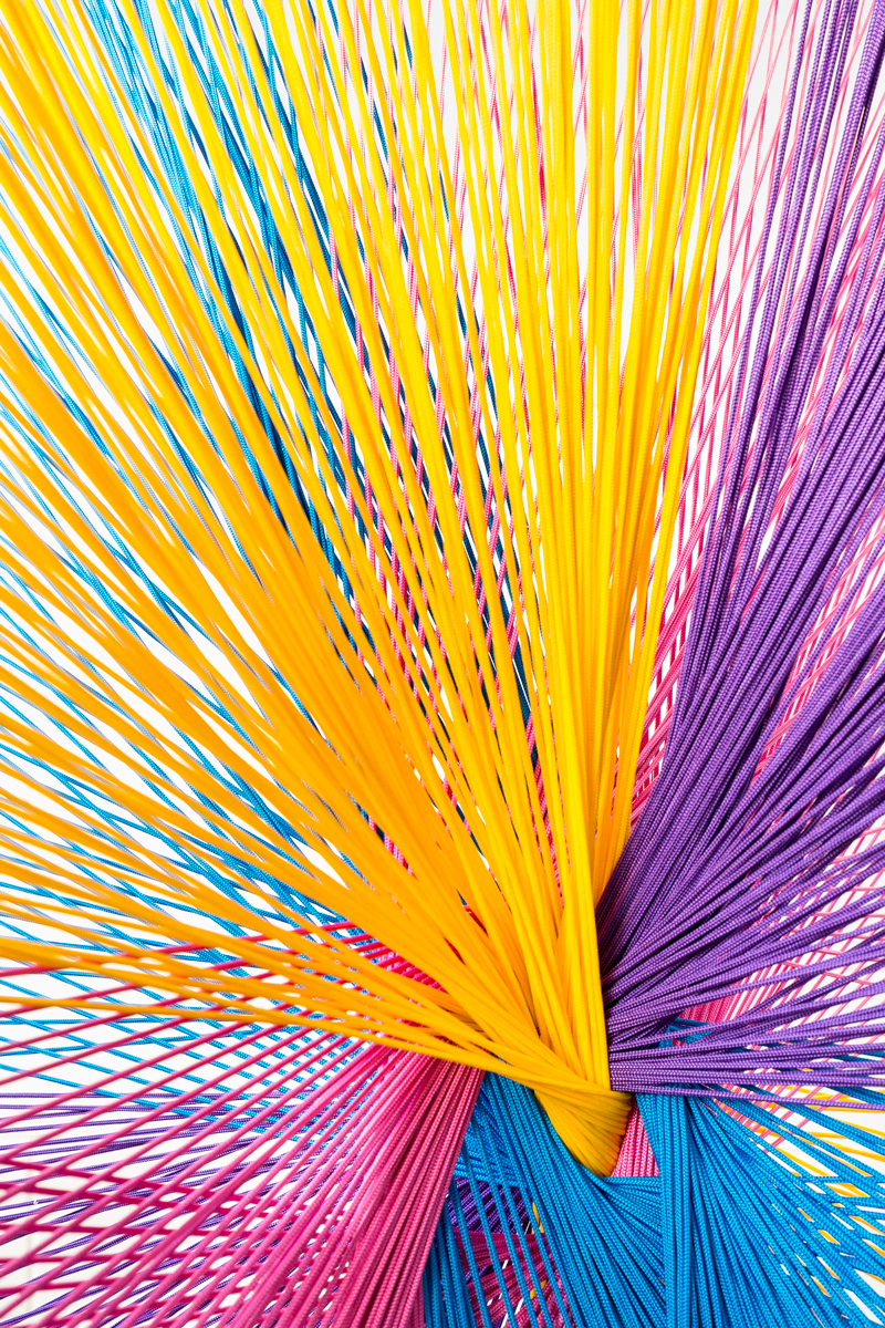 Caterina Aicardi, opere, scultura, natura, art, scultura, corda, colori