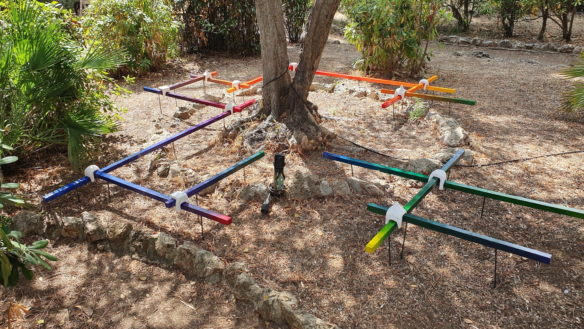 cromatica Francia installazione Klee arte contemporanea